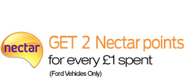 Collect 2 Nectar points for every £1 spent