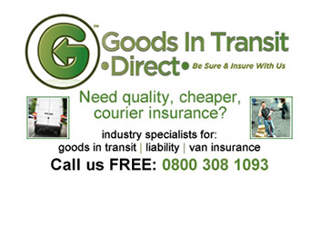 Goods in transit direct logo