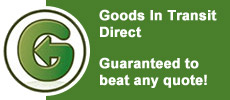 Goods in Transit Insurance, guarantee to beat any quote